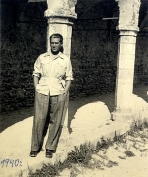 Milos Crnjanski in italia